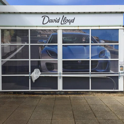 David Lloyd Gym Branded Glass