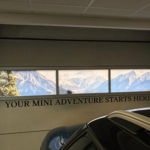 Indoor Window Contra Vision