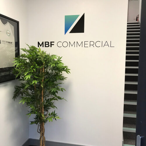 MBF Commercial Branded wall