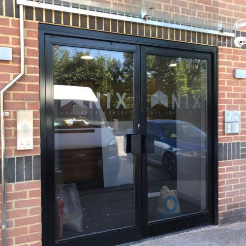 Nix Business Centre Door Glass Obscurity