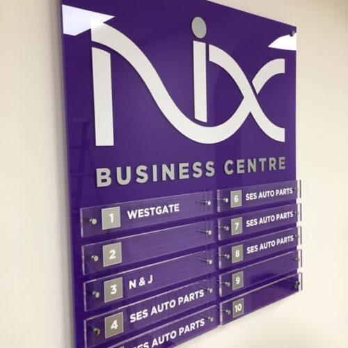 Nix Internal office branding