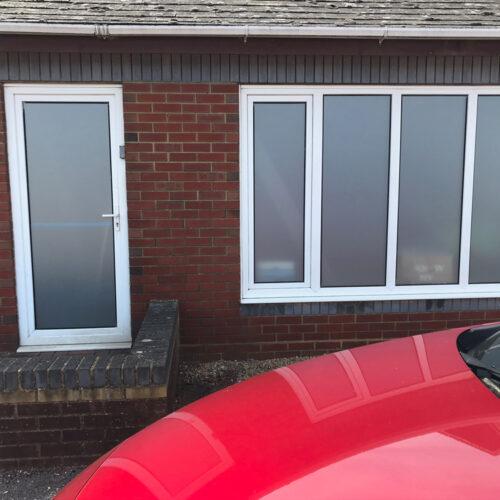Windows and Door Glass Obscurity