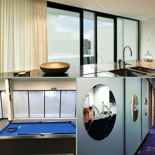Create privacy and elegance with opaque window films