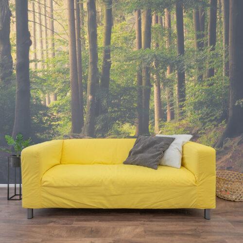 Living room wall wrap