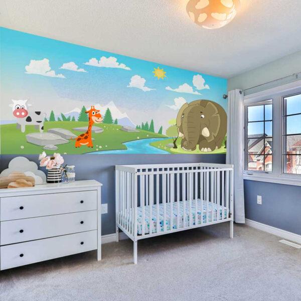 Nursery Room Wall Mural