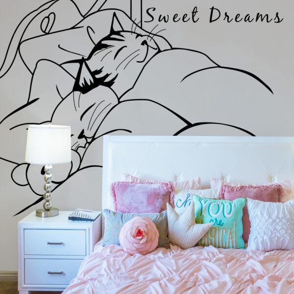 Sweet Dreams Wall Wrap
