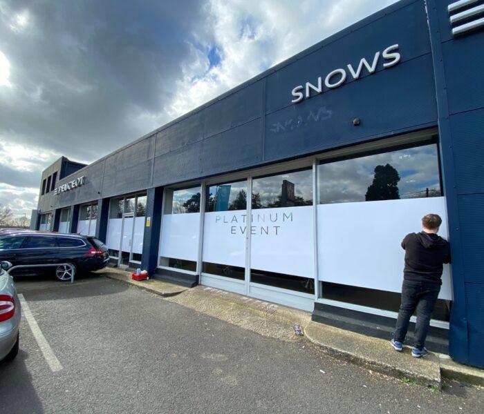 Building Front Graphics Southampton