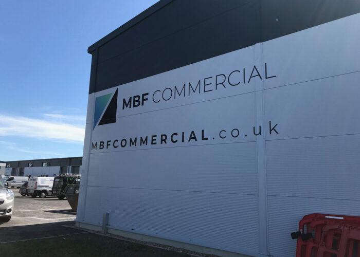 MBF Exterior Wall Vinyl Wrap