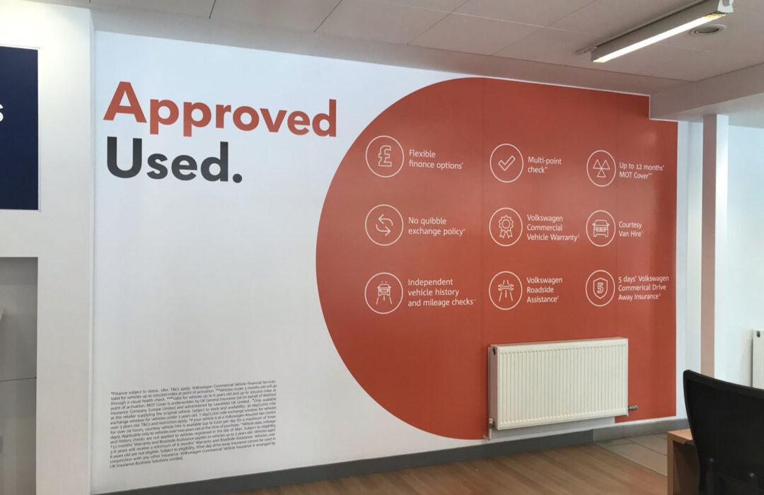 Office Wall Branding Southampton