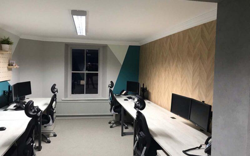 Refurbished Office Workspace