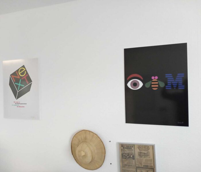 Printed Foamex board