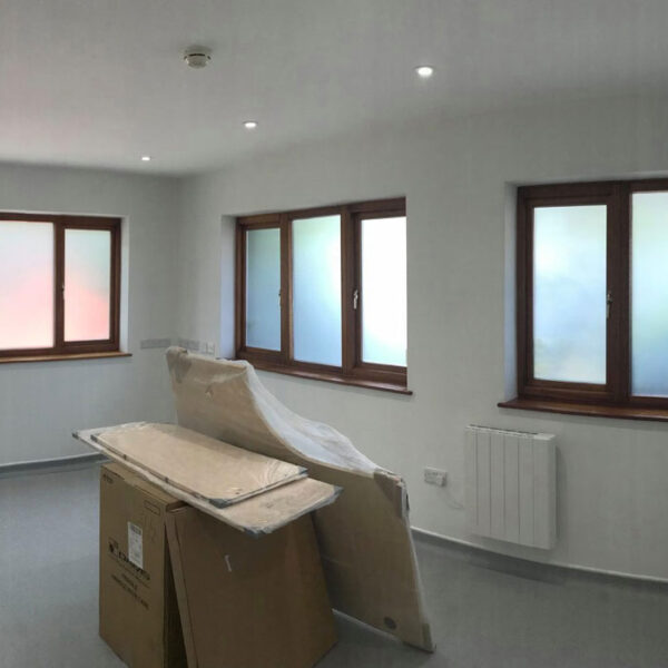 Dentist Room Window Frosting