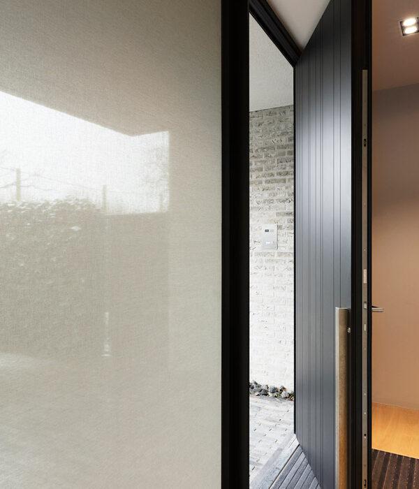 Glass Covering SQUID Front Door Window
