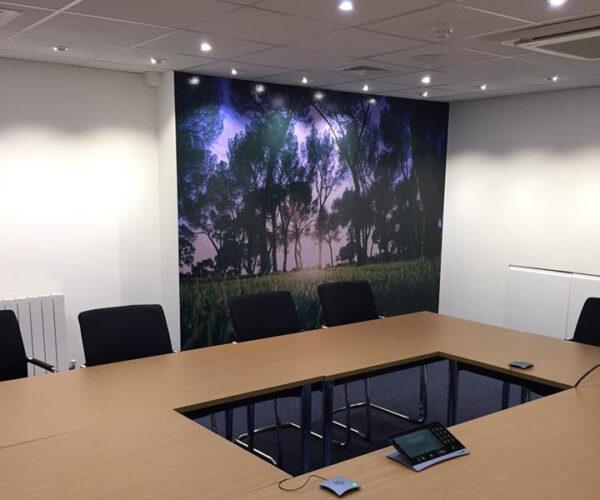 Meeting Room Wall Wrap Fareham