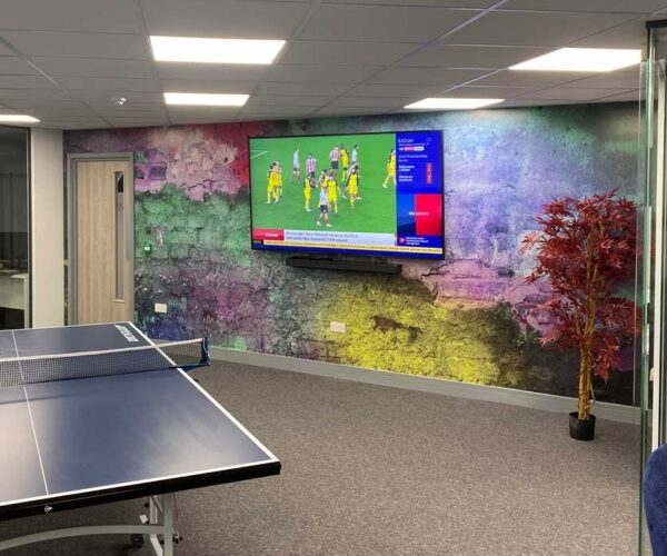 Wall Wrap for Andover office