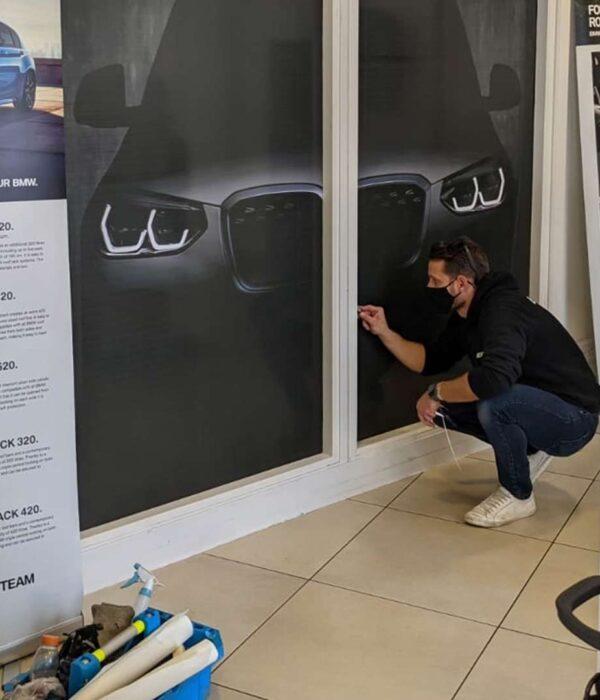 Shopfront Glass Graphics